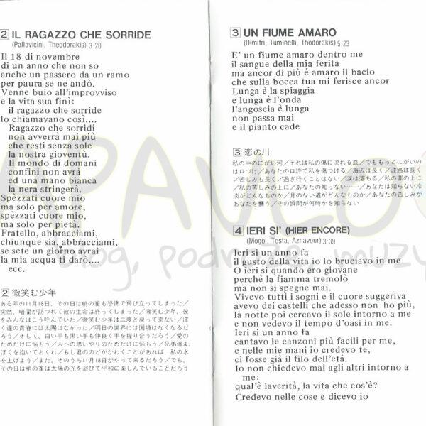 Iva Zanicchi – Best Hits (Japan, 1993, Seven Seas, KICP 2429) – Booklet