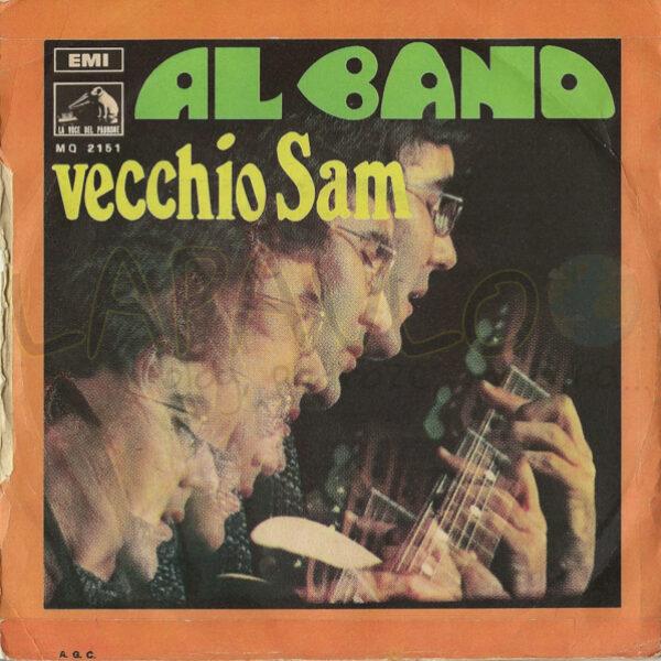 Al Bano – Mattino / Vecchio Sam (Italy, 1968, La Voce Del Padrone, MQ 2151) – Back cover
